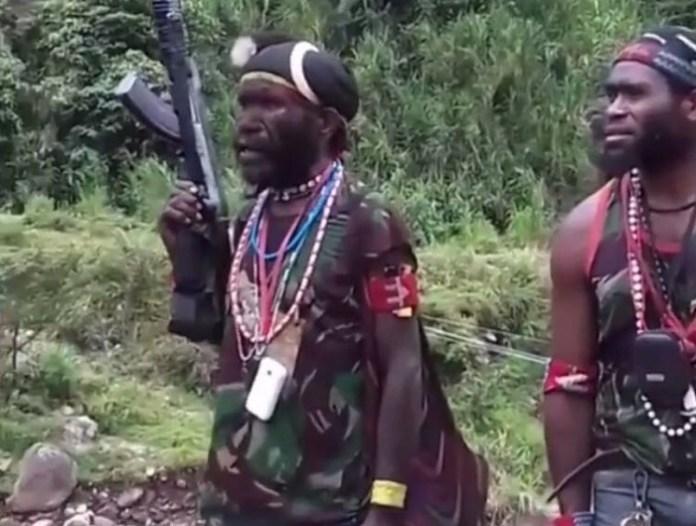 Kelompok Separatis di Papua (Foto Istimewa/Nusantaranews)