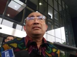 Kuasa Hukum Setya Novanto, Firman Wijaya minta KPK perhatikan kesehatan kliennya. Foto: Restu Fadilah/NusantaraNews