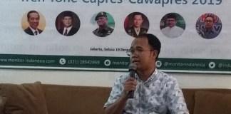 Direktur Eksekutif lembaga research and consulting Monitor Indonesia, Ali Rifan. Foto: Ucok Al Ayubbi/ NusantaraNews