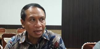 Ketua DPP Partai Golkar Zainuddin Amali memastikan Golkar mendukung pasangan Khofifah-Emil di Pilgub Jatim 2018. Foto: Tri Wahyudi/NusantaraNews