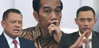 AHY, Jokowi dan Gatot (Ilustrasi/Pinterpolitik)