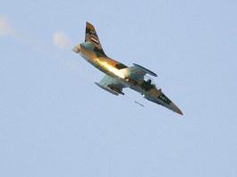 Sebuah jet tempur Angkatan Udar Suriah, L-39 Albatros jatuh ditembak kelompok teroris di Provinsi Hama Utara,. Foto: theaviationist.com