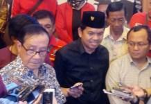 Akbar Tanjung bersama Dedi Mulyadi (Foto: Ucok A/Nusantaranews.co)