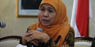 Menteri Sosial Khofifah Indar Parawansa. Foto Tri Wahyudi/ NusantaraNews