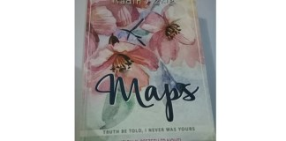 COver Novel - Maps : Truth Be Told, I Never was Yours. Foto: Putri Ayu
