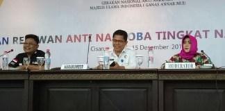 Pelatihan Relawan Anti Narkoba Tingkat Nasional oleh GANAS ANNAR MUI (Foto: Ucok A/Nusantaranews)
