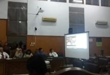 Pemutaran video rekaman KPK (Foto: Restu Fadilah/Nusanataranews.co)