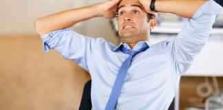 Pria stres. Foto: Ilustrasi/Boldsky