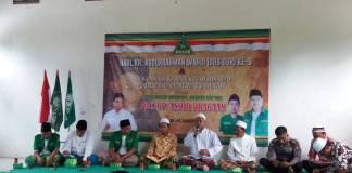 Pengurus Anak Cabang Gerakan Pemuda Ansor (PAC. GP Ansor) Kecamatan Pragaan Kabupaten Sumenep Madura Jawa Timur menyelenggarakan kegiatan Haul KH. Abdurrahman Wahid (Gus Dur) pada Kamis (4/1/2017). Foto: Mahdi Alhabib/NusantaraNews