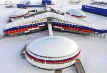 Basis Militer Arktik Rusia/Foto: The Sun