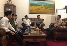 Densus 26 Korwil Madura pada Selasa (16/1) bersilaturahim dengan Kapolres baru Sumenep, AKBP Fadilah Zulkarnaen. Foto: Achmad Sulaiman/NusantaraNews