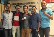 Mantan Ketua Umum Himpunan Mahasiswa Islam (HMI) Jawa Barat periode 2013-2015, Ali Santosa (tengah). Foto: Andre Lukman
