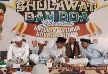 """Calon Gubernur Jawa Timur, Saifullah Yusuf (Gus Ipul) Selasa pagi (30/1/2018) menghadiri """"Gebyar Sholawat dan Doa bersama untuk Jawa Timur Guyub dan Rukun."""" Foto Setya/ NusantaraNews"""