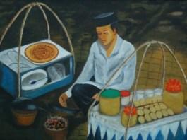 Penjual Kerak Telor (Ilustrasi). Foto: Dok. bene.is.me