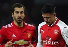 Sanchez dan Mkhitaryan (Foto Goolfm)