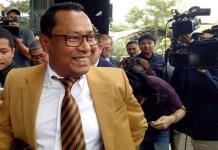 Kuasa Hukum Fredrich Yunadi, Sapriyanto Refa mengaku tidak tahu menahu soal pelaporan terhadap Wakil Ketua KPK Basaria Panjaitan dan Jubir KPK Febri Diansyah.