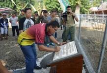 Komandan Korem (Danrem) 082 Citra Panca Yudha Jaya Kolonel Kav Gathut Setyo Utomo meresmikan Wisata Rusa di Mojokerto. (Foto: Istimewa)
