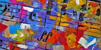 Chopinprelude - Debra Hurd Original Paintings AND Jazz Art. Foto: blogger