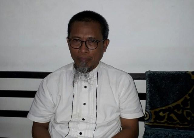 Tersangka korupsi dana Kredit Usaha Tani (KUT), Salim Achmad yang sudah buron selama 11 tahun akhirnya ditangkap. (Foto: Mahdi Alhabib/NusantaraNews)