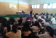 Sosialisasi bahaya narkoba kepada Pramuka Saka Wira Kartika di Jember. (Foto: Istimewa)