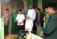 Ketua Umum Partai kebangkitan Bangsa (PKB) Muhaimin Iskandar usai doa bersama di Ponpes Nurul Huda Handayani Pekan Baru, Riau. (Foto: Dok. NusantaraNews)