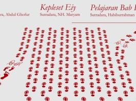 Teater ESKA Yogyakarta akan menggelar Pentas Tiga Bayangan di Gelanggang Mahasiswa UIN Sunan Kalijaga Yogyakarta. (Ilustrasi Foto: NUSANTARANEWS.CO/Poster)