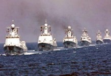 Ilustrasi Armada Angkatan Laut Cina/Foto: USNI News