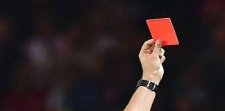 Ilustrasi Kartu merah