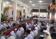 Pengajian Akbar dan Maulidurrosul dalam rangka Hari Jadi ke - 273 Kab. Pacitan (24/02/2018). (Foto: Istimewa)