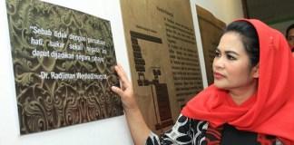 Puti Soekarno Berkunjung ke Rumah Radjiman (Foto Tri Wahyudi/Nusantaranews)