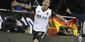 Santi Mina pemain Valencia (Foto Dok. Valencia FC)