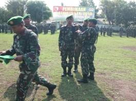Prajurit TNI Kodim Mojokerto menggelar Latihan Teknis Teritorial (Latnister) tahun 2018. (Foto: Istimewa)