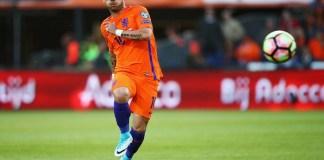 Pemain tengah hebat asal Belanda, Wesley Sneijder pensiun dari tim nasional Belanda. (Foto: Getty Images)