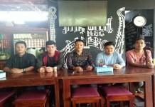 Mahasiswa yang terhimpun dalam Aliansi Mahasiswa Padang Lawas mendesak KPK usut tuntas kasus korupsi dana DAK Kesehatan dan dana desa di daerah tersebut. (Foto: Istimewa)