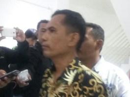 Tokoh Aktivis '98, Aznil usai acara deklarasi Ormas DERAP (Merdeka Seratus Persen) di Warung Kopi Politik Pakubowono, Jakarta Selatan (22/3/2018). (FOTO: NUSANTARANEWS.CO/Istimewa)