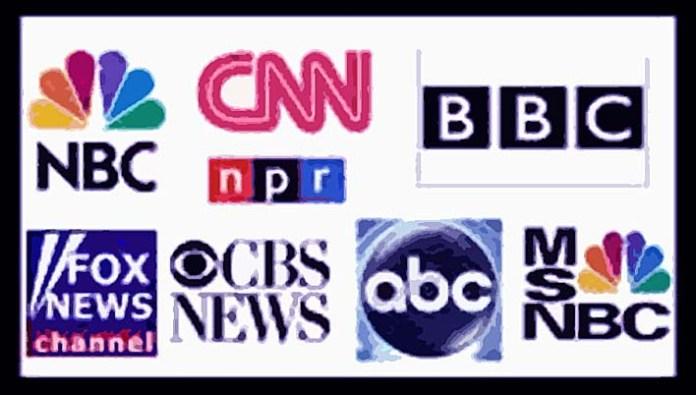 Ilustrasi Media Mainstream Barat