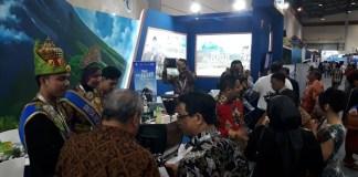 Ragam Paket Wisata Adventure dari Aceh dipamerkan di Deep & Extreme Indonesia 2018. (Foto: Istimewa)