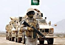 Tentara Kerajaan Arab Saudi.