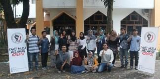 Gerakan Pemuda Melawan Korupsi (GMPK) UIN Sunan Kalijaga Yogyakarta. (Foto: Tri Mulyani/NusantaraNews)