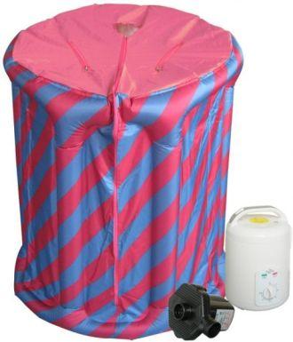 حمام الساونا لفتح مسام الجلد وتنظيف البشرة مع تحكم بالحرارة وقوة البخار