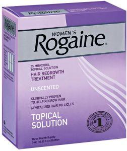 روجين لعلاج تساقط الشعر ( مينوكسيديل ) للنساء