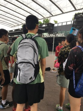Recruits gathering at Singapore Sports Hub to hone their skills while hunting down a villain.