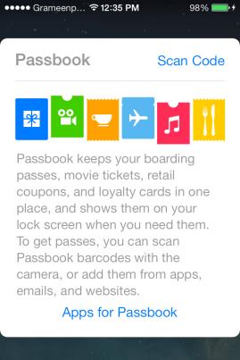 ios passbook
