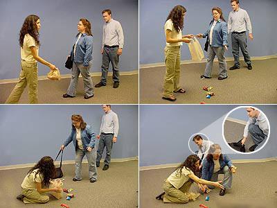 pickpocket-technique