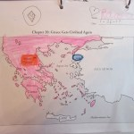 daughters map of civilized Greeks