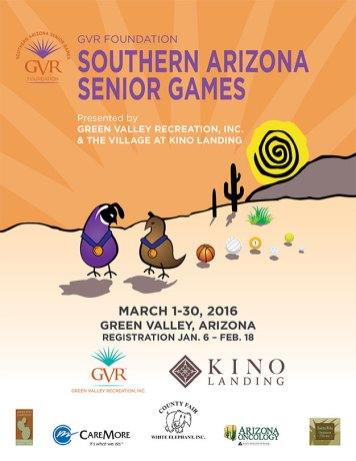 Southern AZ Senior Games RegistrationBook