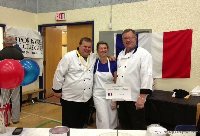 The France Booth at the Taste of Barrhead