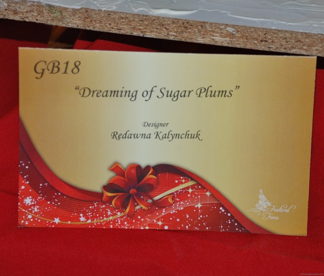 Dreaming of Sugar Plums Festival of Trees Grande Prairie 2010