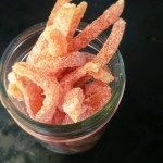 Sugared Grapefruit Rind