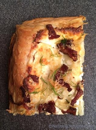 Fennel Onion Tart on Nutmeg Disrupted